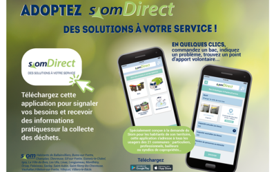 Téléchargez l'application mobile SiomDirect