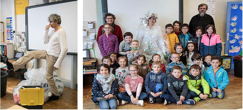 Les Ecoles Durables fêtent leurs 10 ans avec «L'Homme Poubelle»