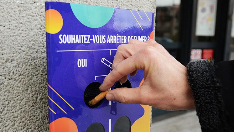 Les cendriers sondages : du vote au recyclage